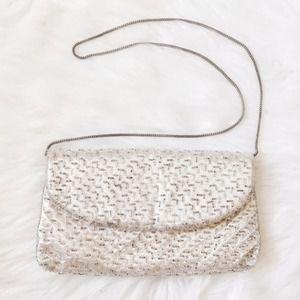 Vintage Walborg 1955 Beaded Evening Bag